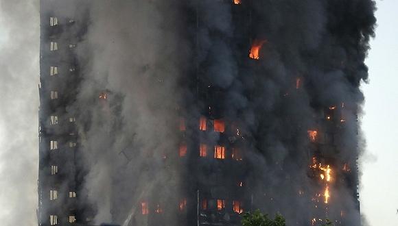 伦敦 火灾